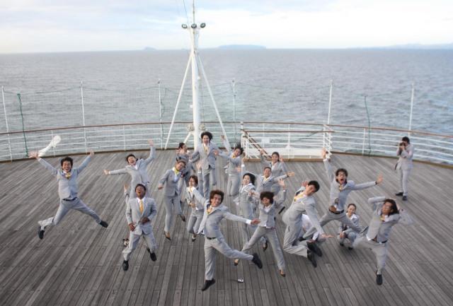 TPYs at Sport Deck, Nippon Maru